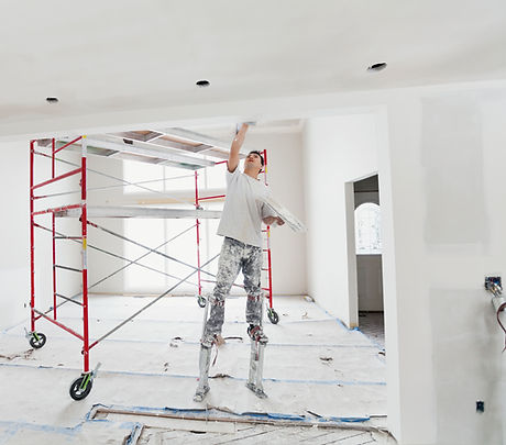 Applying Cement on Wall