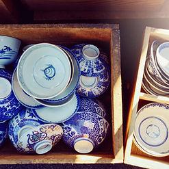 Flea Market Pottery