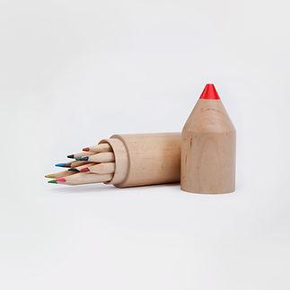 Wooden Pencil Colors
