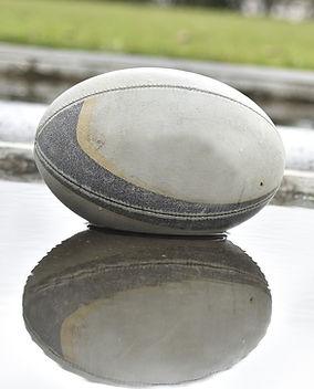 Reflejo de pelota de rugby