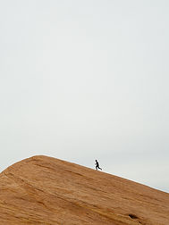 Runner on Mountain