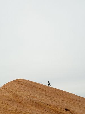 Runner on Mountain