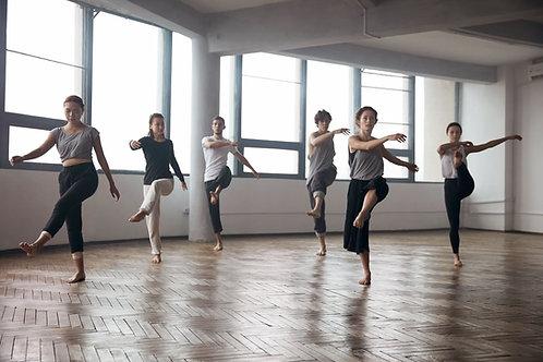 Cours de danse ensalle -  12 ans et plus  sur 11 mois - 2 cours par semaine