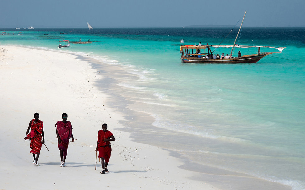 Massai in Sansibar Tansania