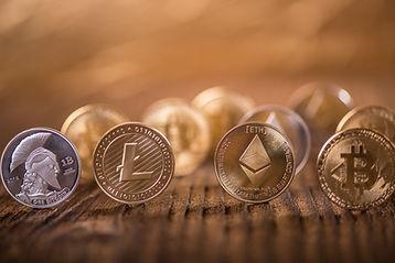 Important Cryptocurrencies, LTC, ETH,BTC