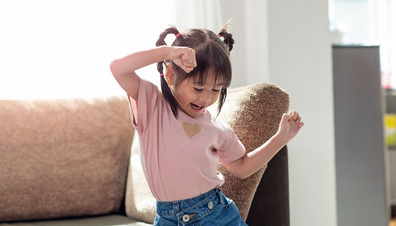 Happy and Dancing