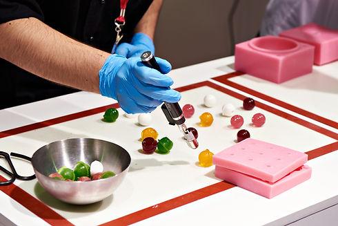 Fabricación de dulces