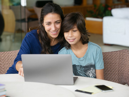 Online guides offer support for parents and children. Start here.