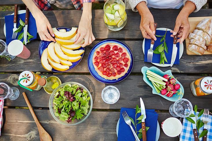 Programmes rééquilibrage alimentaire menu de la semaine