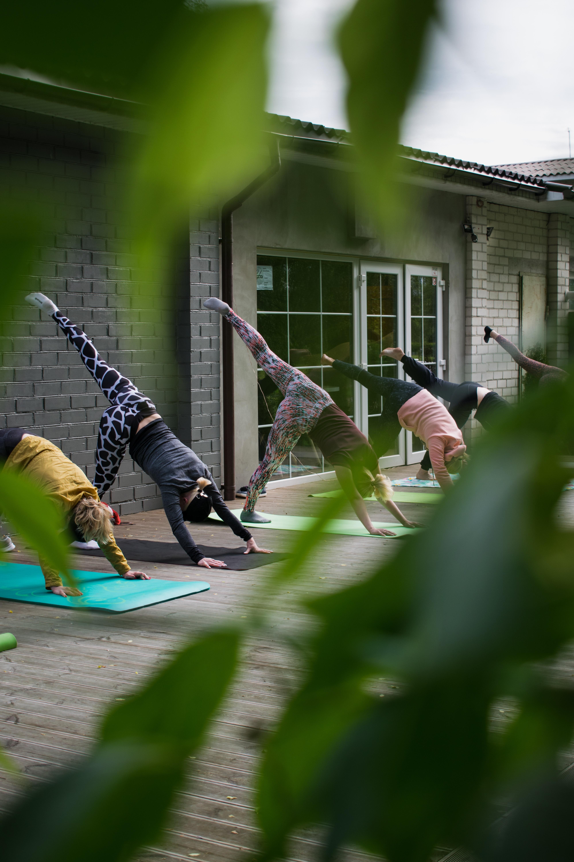Yoga im Mehrgenerationenhaus