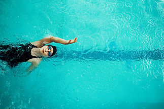Backstroke Swimmer