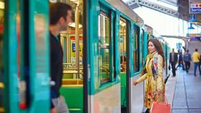 Hommage aux galants du métro parisien