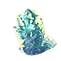 Turquoise Crystal Rock