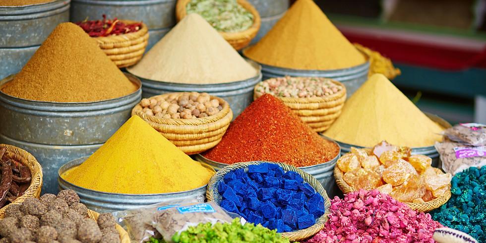 LIVE Cookalong - Tastes of Morocco