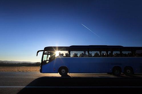 Bus to Presentation Night