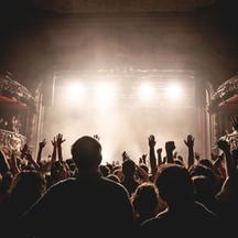 Foule dans un concert