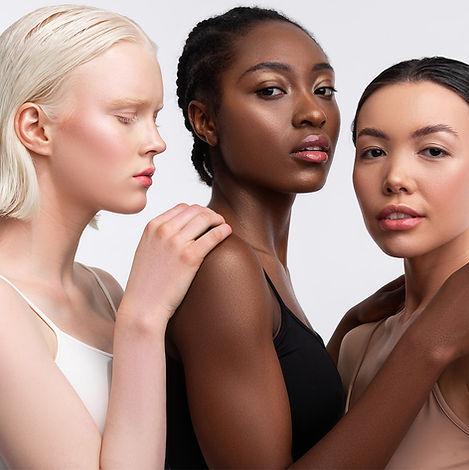 Multicultural Women Face