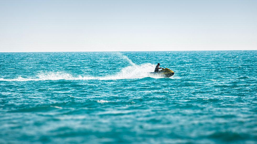 Jet-Ski Ausflug entlang der Südküste Mallorcas