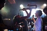 Игра на саксофоне