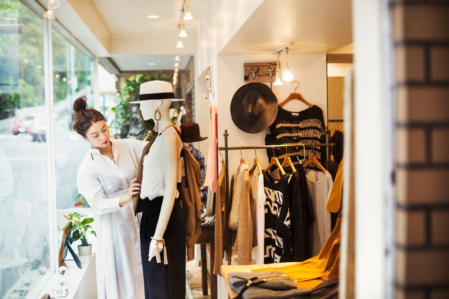 Fashion Shop Anzeige