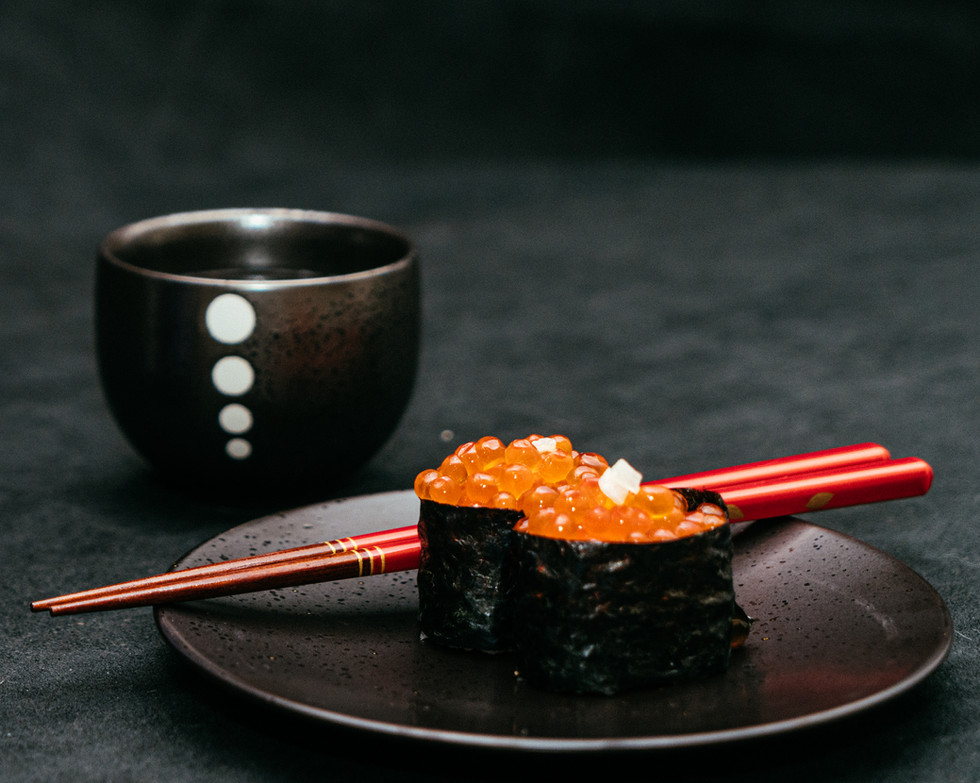 Red Cavier Sushi