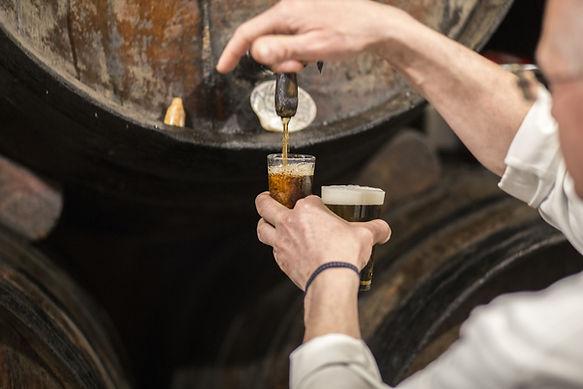 brasseur fût de bière