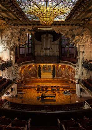 Théâtre de l'hôtel de ville de flamenco