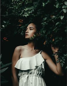 Model Posing Outdoor