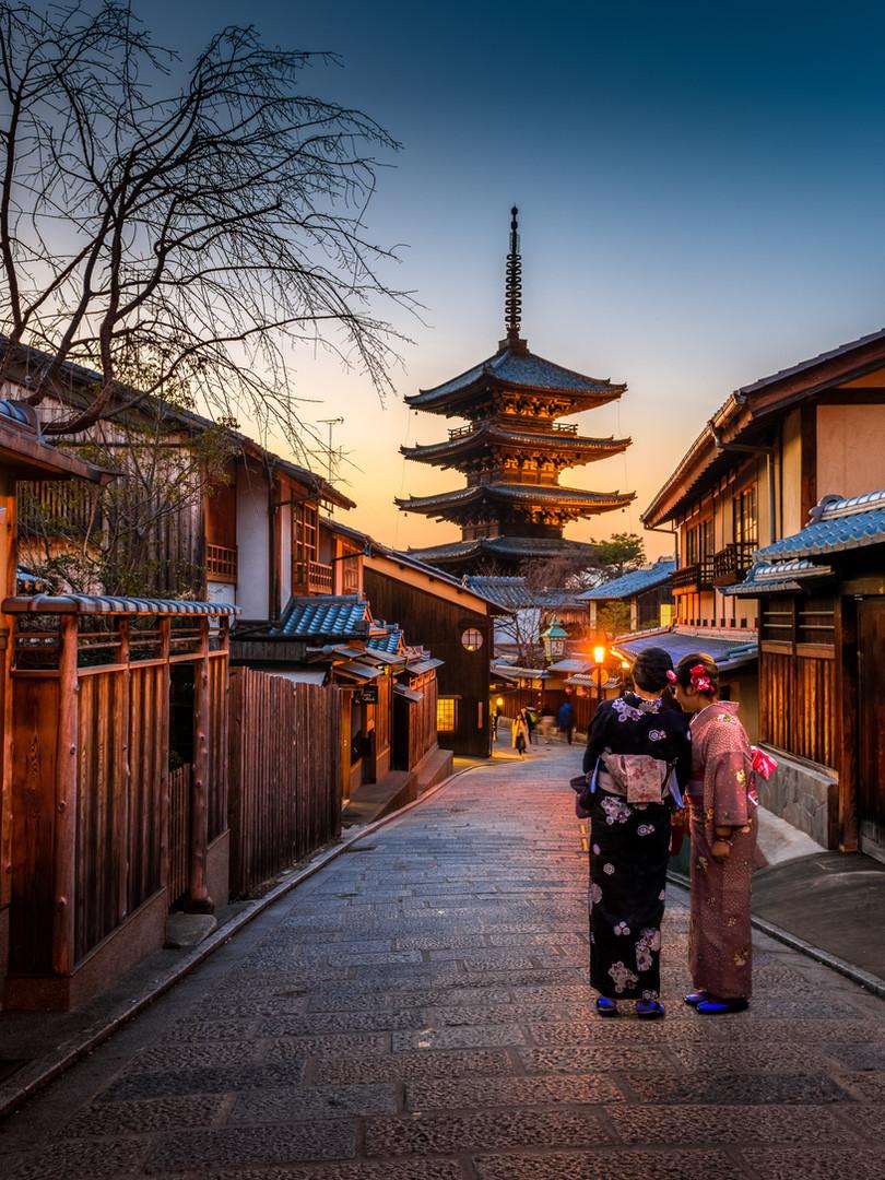 Petite rue au Japon