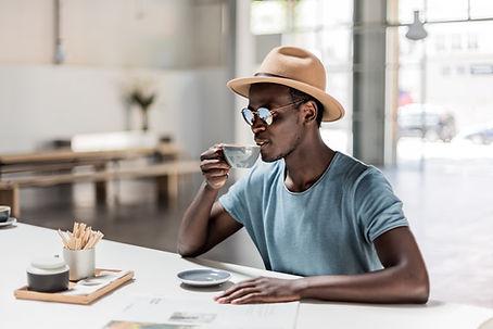 Café potable Homme