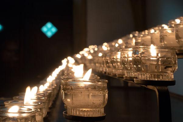 Kaarsen van de kerk