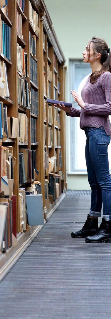 Returning Book to Shelf