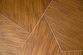 기하학적 인 나무 패턴