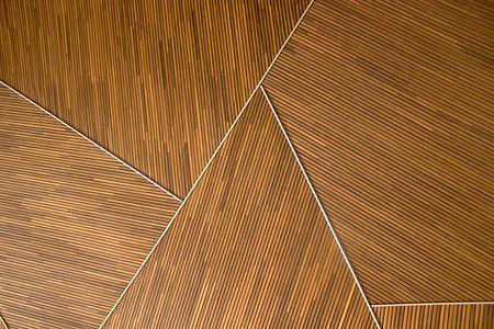 Motif géométrique en bois