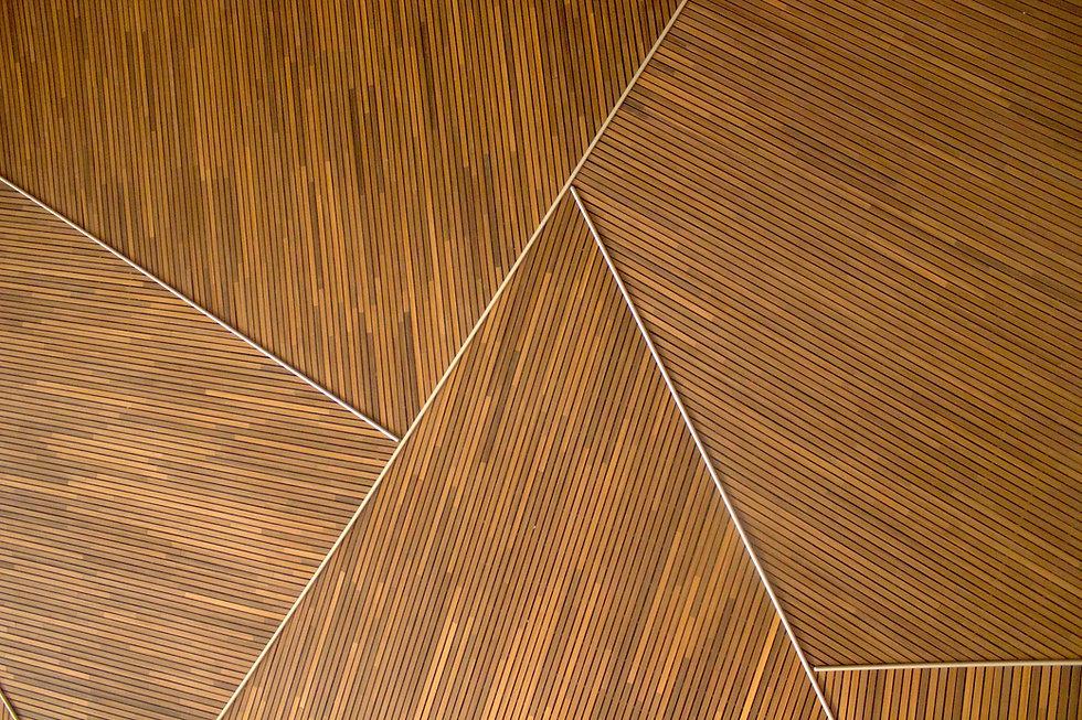 Patrón de madera geométrica
