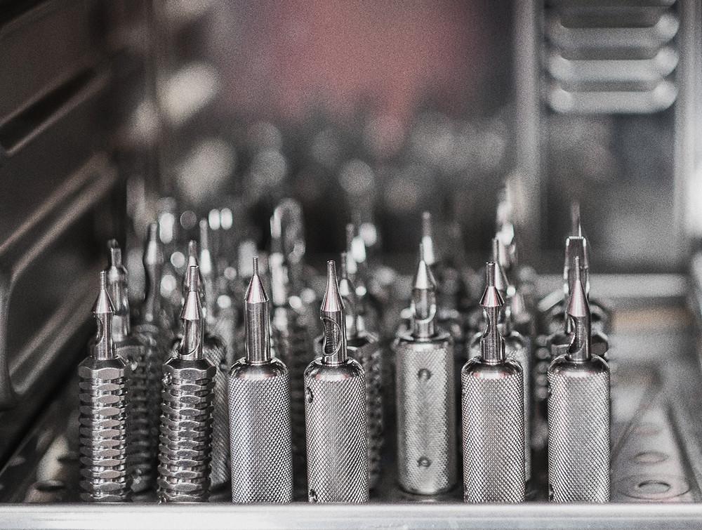 Symbolbild Tattoo-Maschinen