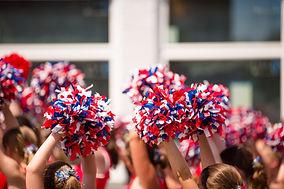 Cheering
