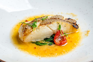 Plated Fish Fillet | Fine Dining | The Capon Tree Townhouse
