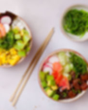 Hawaiian Poke Bowls