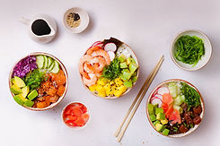Hawaiian Poke Bowls, saine alimentation, alimentation naturopathique, naturopathe alimentation, alimentation famille, alimentation enfants, nutrition, jeûne intermittent, alimentation cétogène