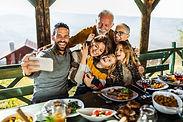Familien-Selfie