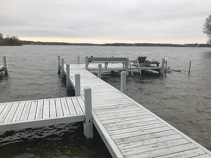 permanent piers, piers, lake, forever piers
