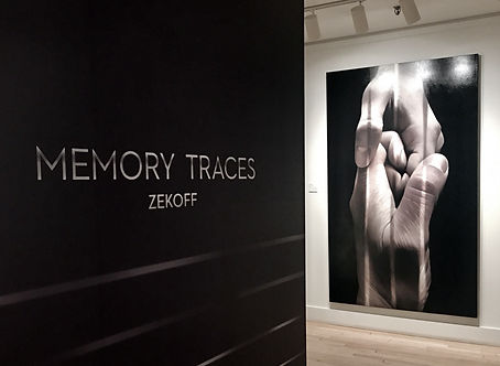 ZEKOFF MEMORY TRACES LEROYER GALLERY 2018