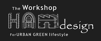 Logo The Workshop HAMdesign for Urban Green Lifestyle
