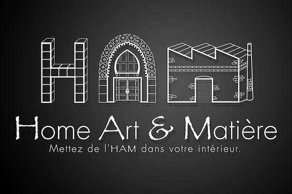 Logo HAM Home Art & Matière Mettez de l'HAM dans votre intérieur