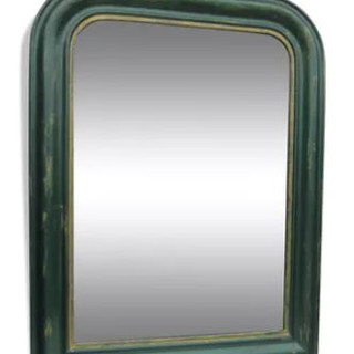 Miroir vert mordoré