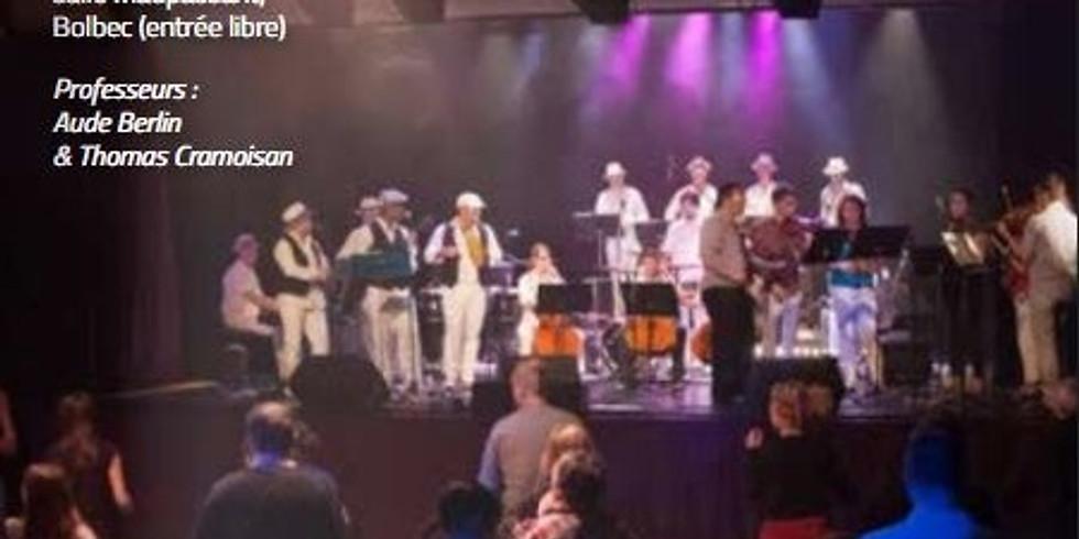 Concert dansant Bossa Nova des élèves du conservatoire Caux Vallée de Seine