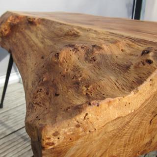 Table basse formes libres Raw design