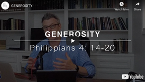 Generosity and Giving