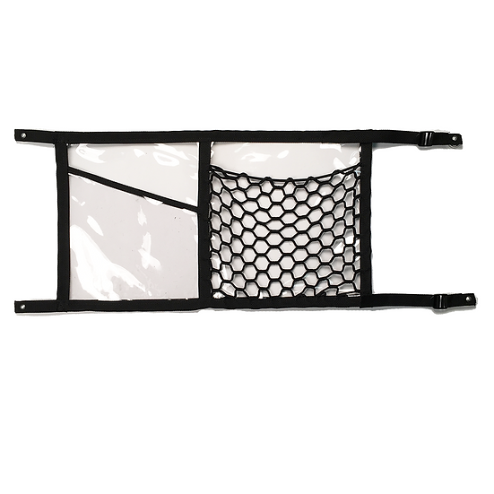 14x25 Forklift Clear Pocket w Stretch Net